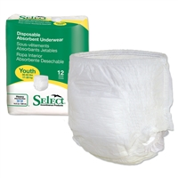 Select Disposable Absorbent Underwear - Youth